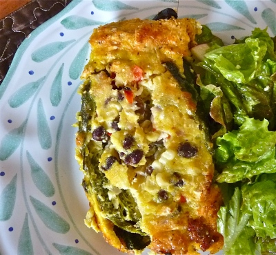 Chiles Rellenos - Frittata Style