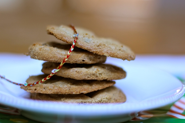Cookie Blog Hop: Oatmeal Peanut Butter Cookies with Chocolate Chips