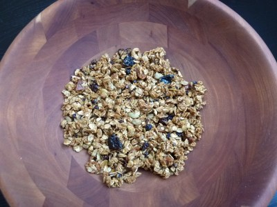 Granola with Dried Fruit